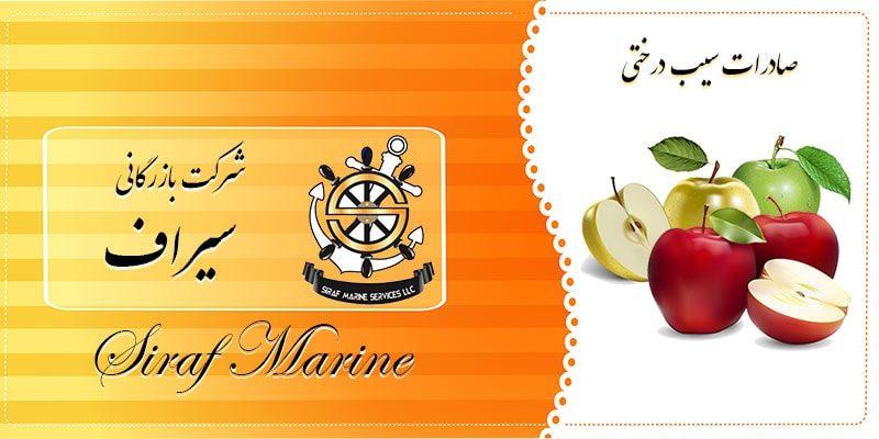 سیب درختی صادراتی ایران