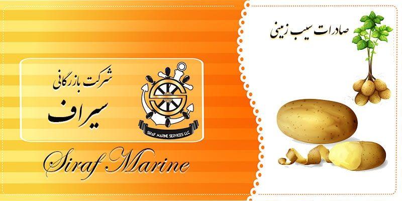 سیب زمینی صادراتی ایران