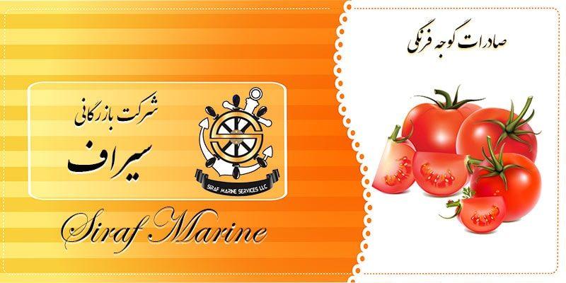 گوجه صادراتی ایران