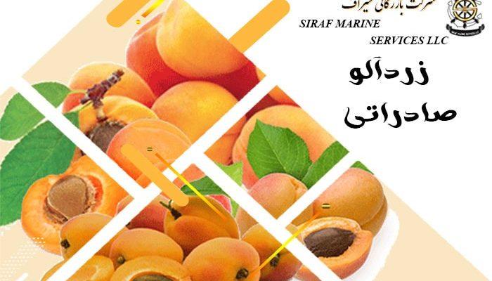 صادرات زردآلو